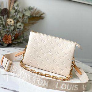 LV❤️Coussin PM Vuittamins Cream Bag White M57793